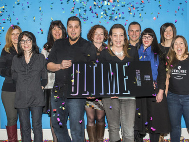 Nathalie Ann Dugal (group of 10), Montréal (CNW Group/Loto-Québec)