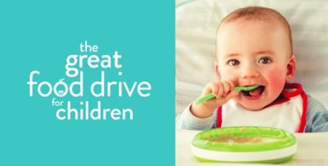 Donate online by visiting greatfooddrive.com or text BEBES to 20222 to make a $10 donation (CNW Group/MOISSON MONTREAL)