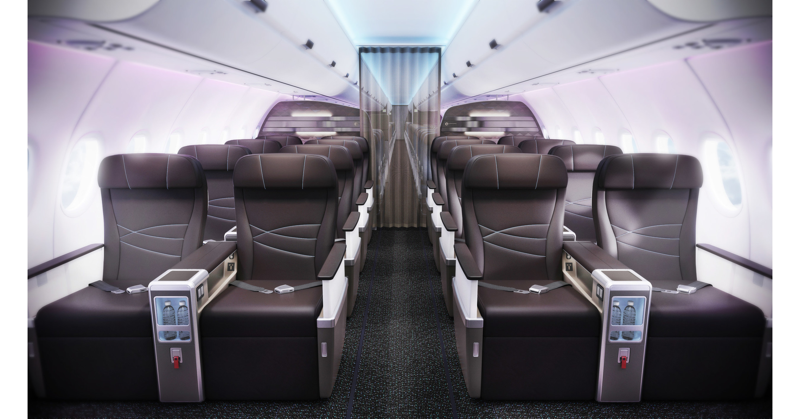 innovative cabin interior design | Hawaiian Airlines Elevates Island Hospitality with ...
