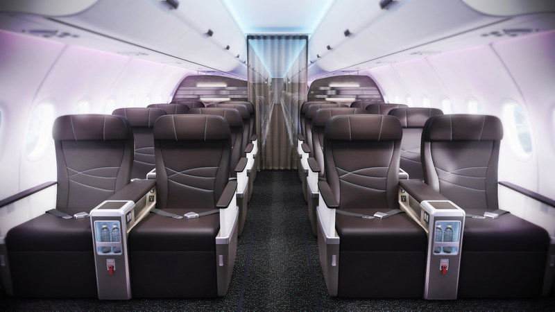 Hawaiian Airlines Elevates Island Hospitality with Innovative A321neo Cabin Design