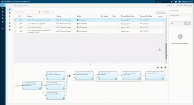 Pre-configured workflows streamline allowance estimation process, while instilling strong controls and auditability.