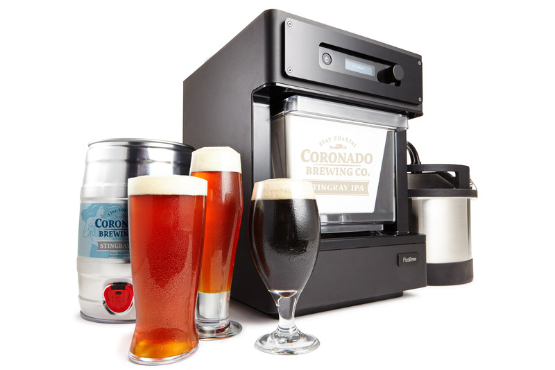 PicoBrew announces the Pico Model C, the newest addition to its line of automated craft beer brewing appliances. A Kickstarter campaign launched today to help fund initial production.