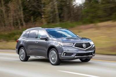 The 2017 Acura MDX led sales of Acura products in March, just ahead of the launch of the new 2017 MDX Sport Hybrid, arriving in dealers this week. The MDX Sport Hybrid is the third application of Acura's performance-focused Sport Hybrid system with SH-AWD, which includes the NSX supercar and RLX Sport Hybrid sedan.