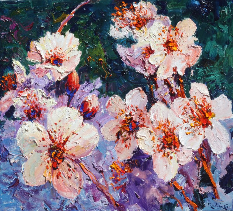 """""""Breath of Spring"""" by Alan Wolton to be showcased at Onessimo Fine Art Gallery"""