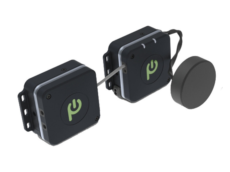 The Proxi-Com pairs with the Proxi-Module wireless power system