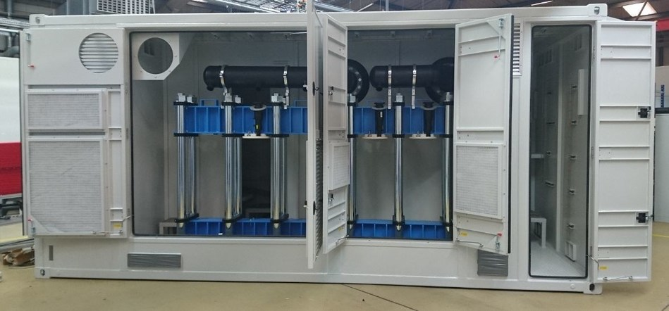 3MW Electrolyser system (PRNewsFoto/ITM Power Plc)