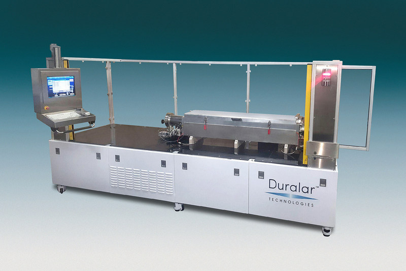 Duralar's new CS-50 system deposits ultra-hard metal coatings.