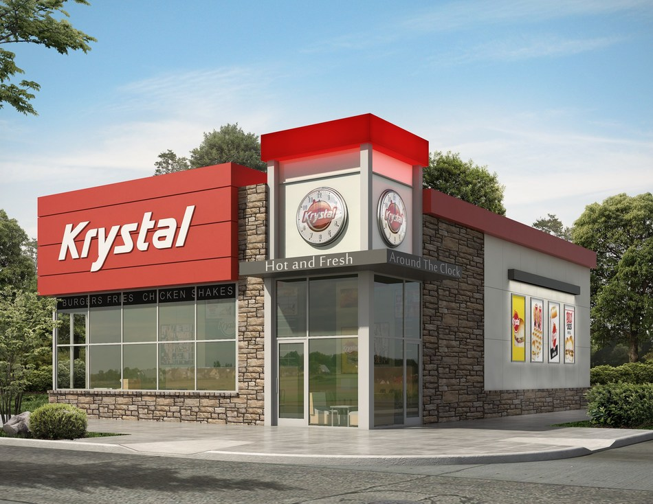 Krystal has a new revamped and refreshed design.