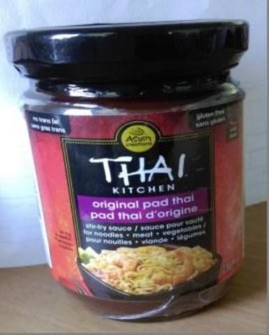 Sauce à sauté Original Pad Thai de Thai Kitchen (Groupe CNW/McCormick Canada)