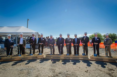Kaizen Development Partners and City of Allen officials at One Bethany at Watters Creek Groundbreaking Ceremony on March 30, 2017.