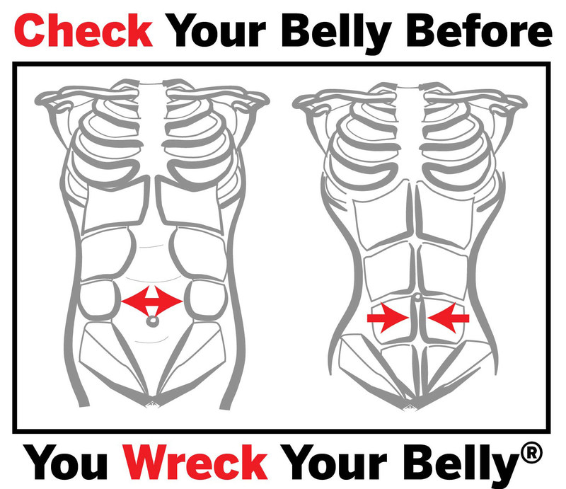 Check Your Belly...Before You Wreck Your Belly(R)