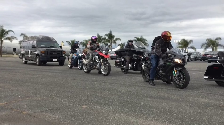 Wounded Warrior Project brought a group of warriors together to ride motorcycles to the March Field Air Museum. The gathering helped connect warriors with one another while getting out into the community.