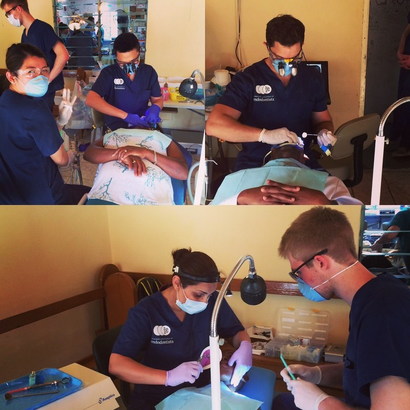 The Foundation for Endodontics' team provides root canal treatment at the Helping Hands Clinic in Treasure Beach, Jamaica.