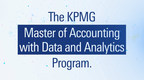 Student Scholarship Applications Available For KPMG Master Of Accounting With Data And Analytics Program
