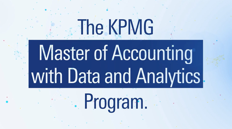 Applications available for KPMG Master of Accounting with Data and Analytics Program. Learn more: https://www.kpmgcampus.com/our-opportunities#accounting