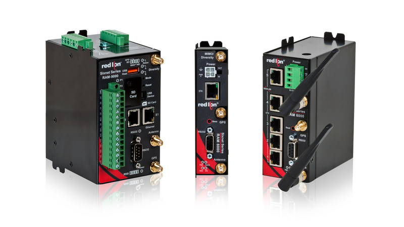 Red Lion RAM(R) industrial cellular RTUs