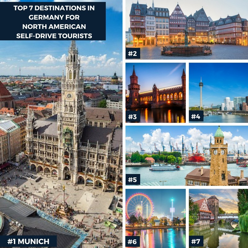 Top 7 Destinations in Germany