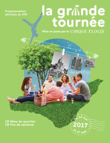La Grande Tournée @Société du 375e anniversaire de Montréal (CNW Group/Société des célébrations du 375e anniversaire de Montréal)