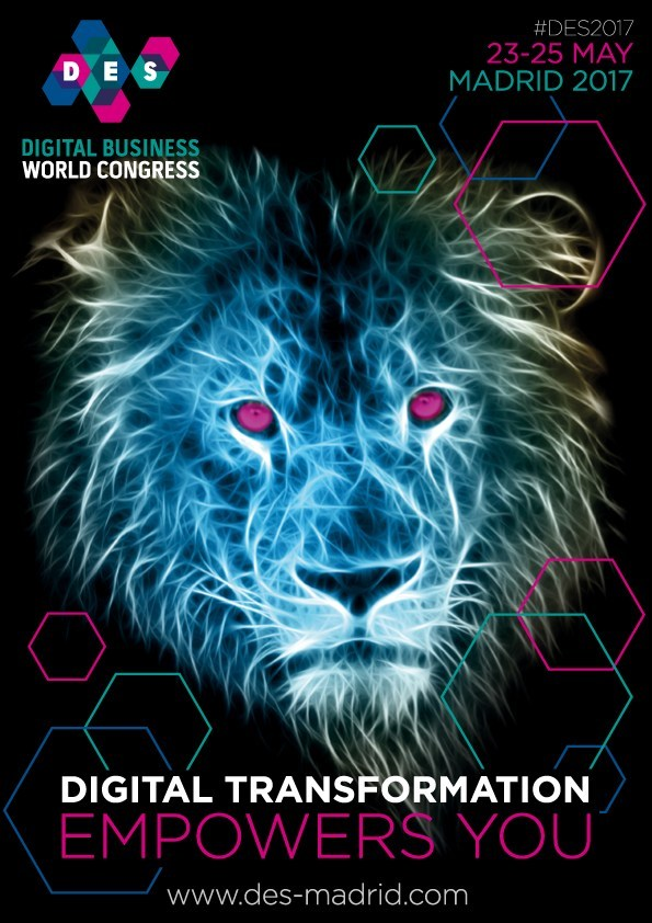Digital Business World Congress Brochure (PRNewsFoto/DES | Digital Business World Con)