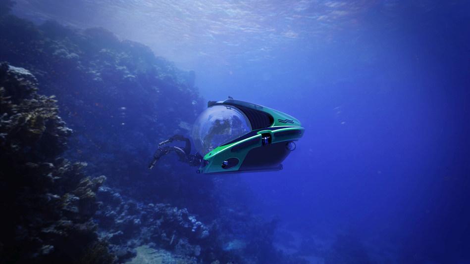 C-Researcher 2-2000 diving (PRNewsFoto/U-Boat Worx)