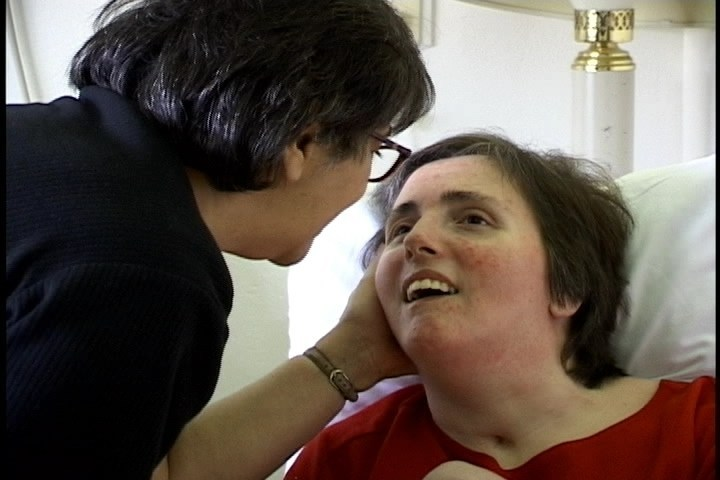 In 1990, Terri Schindler Schiavo, at age 26, collapsed and was diagnosed with a profound brain injury. A national debate unfolded when her husband lobbied successfully to have her feeding tube removed amidst pleas from her family to allow them to provide care (Terri pictured with her mother). She died 13 days later from dehydration. Terri's family created the Terri Schiavo Life & Hope Network to foster education, prayer and activism regarding discrimination against the cognitively disabled.
