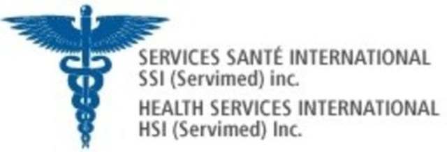 Logo : Services Santé International (Groupe CNW/Services Santé International - Servimed)