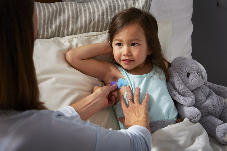 Fever Scout offers parents and caregivers the flexibility to continuously and remotely monitor a child or patient's fever, safely and accurately using a smartphone or tablet.