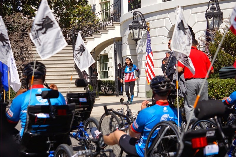 On April 6 the White House will host a group of wounded veterans served by Wounded Warrior Project, during Soldier Ride D.C.