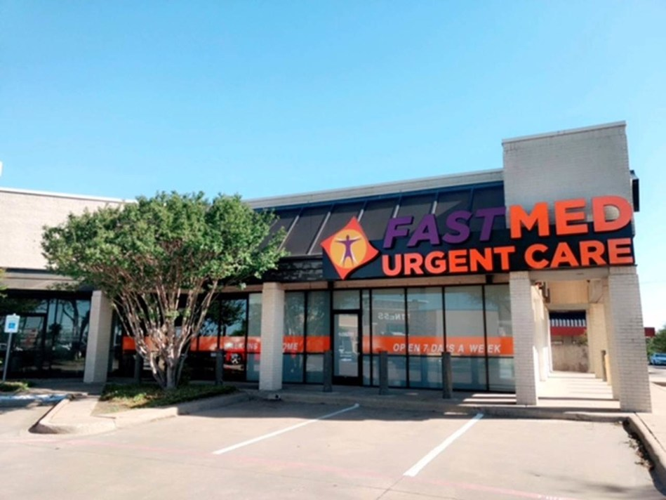 FastMed Urgent Care's newest clinic in Garland, Texas opened on Monday, April 3, 2017.