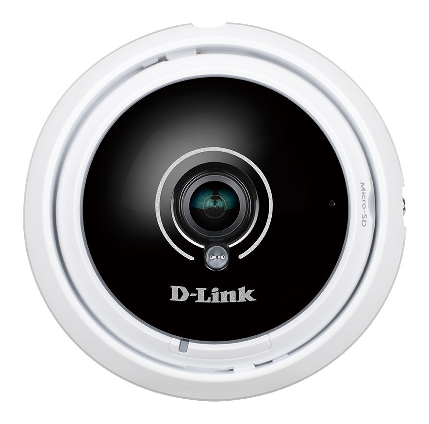 Designed for monitoring large areas from a single camera, D-Link's Vigilance 360 Degree Full HD PoE Network Camera (DCS-4622) is the smallest camera in its class.