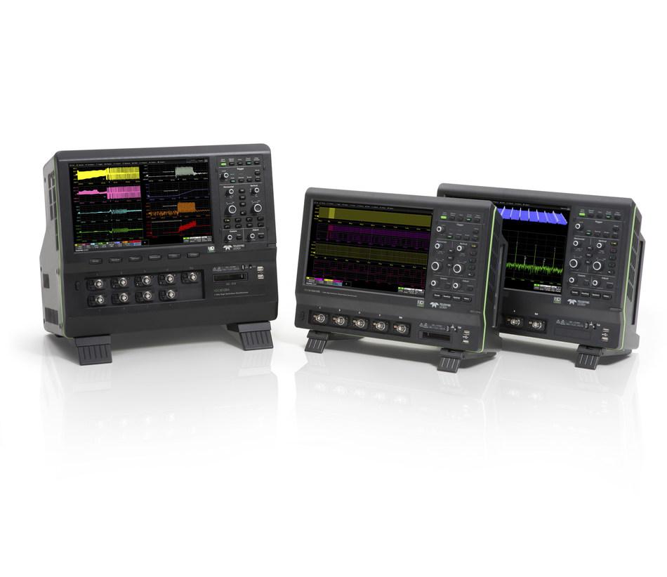 World's Only 12-Bit High Definition, 1 GHz Oscilloscope Platforms now feature 10x Oversampling