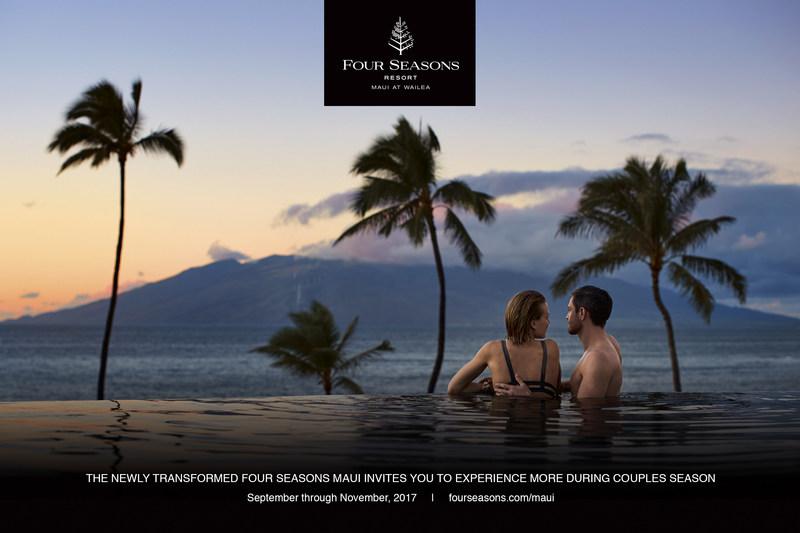 Newly Transformed Renovated Four Seasons Maui at Wailea Announces Couples Season 2017