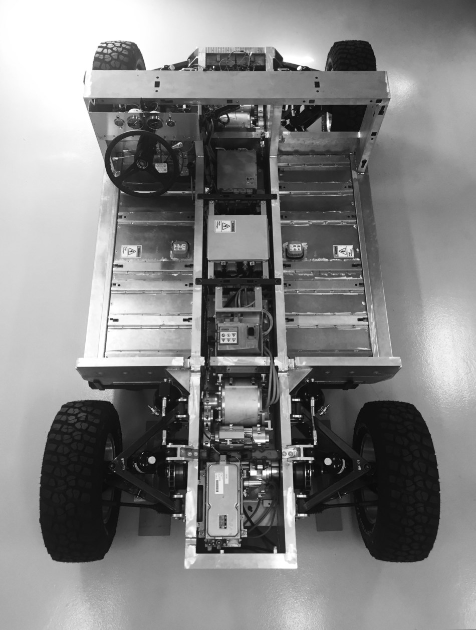 The Bollinger Motors Rolling Chassis