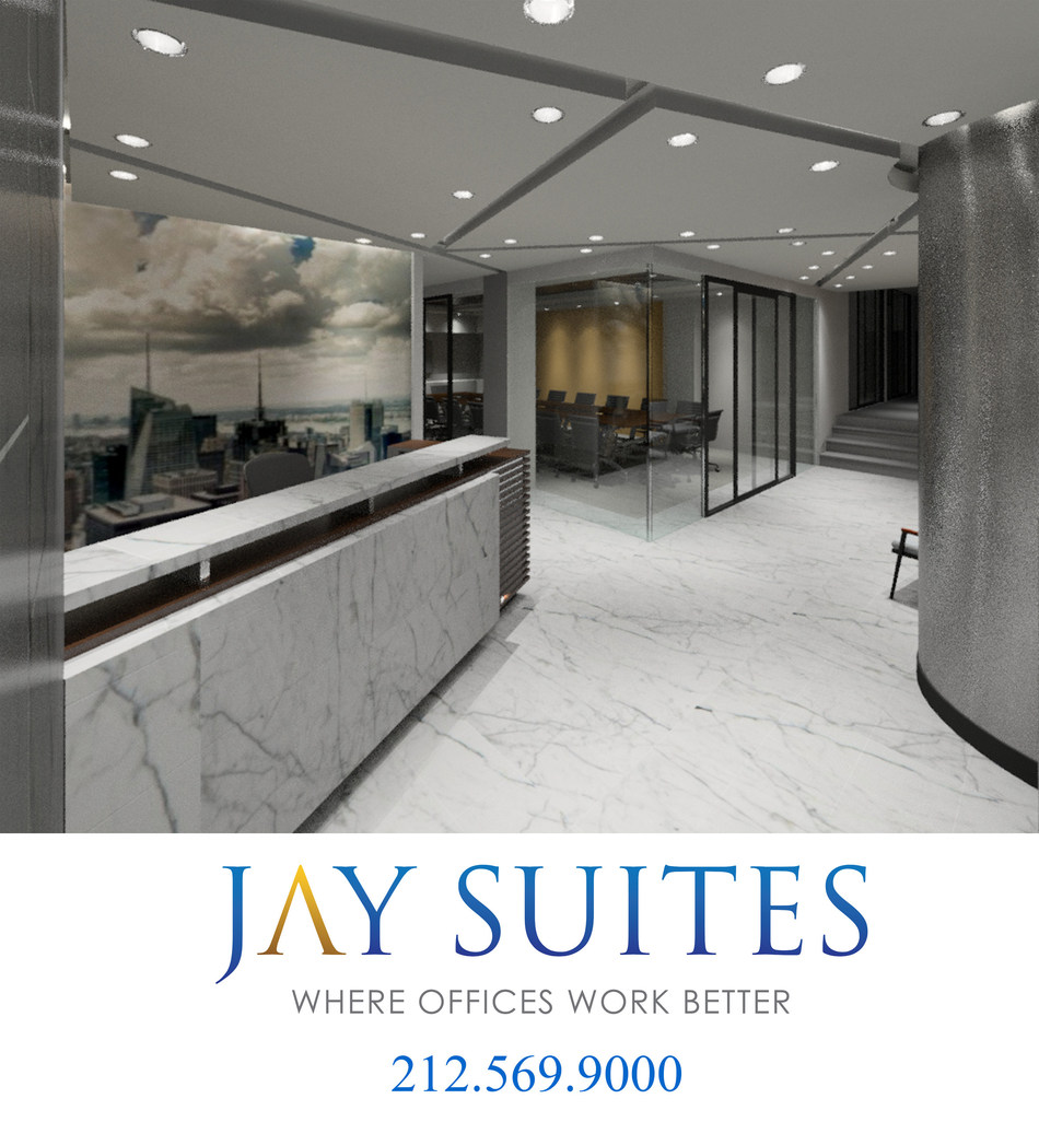 Jay Suites Grand Central Location Reception Area
