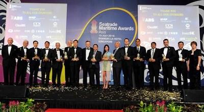 2016 Seatrade Maritime Awards Asia Winners