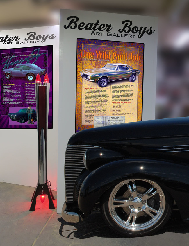 Don't miss your chance to see Hot Rods and Art this weekend. View automotive inspired sculptures and rolling works of art at Gopher State Timing Association's 61st Annual Hot Rod and Custom Car Show April 8th and 9th