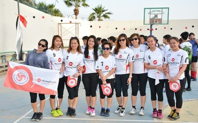 MoneyGram Volleyball Team