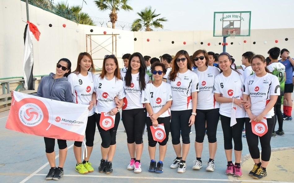 MoneyGram Volleyball Team
