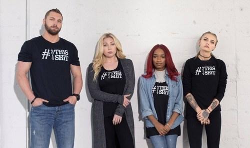 SafeBAE co-founders (L to R): Charlie Coleman, Ella Fairon, Jada Smith, Daisy Coleman