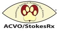 ACVO/StokesRx National Service Animal Eye Exam Event Logo