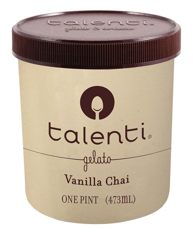 Talenti(R) Gelato & Sorbetto unveils four new flavors for 2017 including Cinnamon Peach Biscuit Gelato, Vanilla Blueberry Crumble Gelato, Vanilla Chai Gelato, and Peanut Butter Fudge Sorbetto.