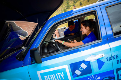After experiencing the Reality Rides driving simulator, nearly 60 percent of participants surveyed say they'll never text while driving.