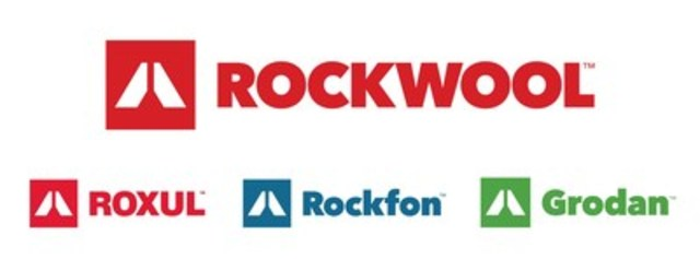 The ROCKWOOL® Group, the world's largest producer of stone wool solutions, has introduced a new brand identity featuring a new symbol and purpose statement to be adopted by all of its subsidiary brands in North America, including Roxul®, Rockfon®, and Grodan®. The symbol, a graphic representation of a volcano, reflects how ROCKWOOL brands use the natural power of volcanic stone to enrich and transform modern living, while providing solutions with far-reaching benefits. (CNW Group/Rockwool Group)