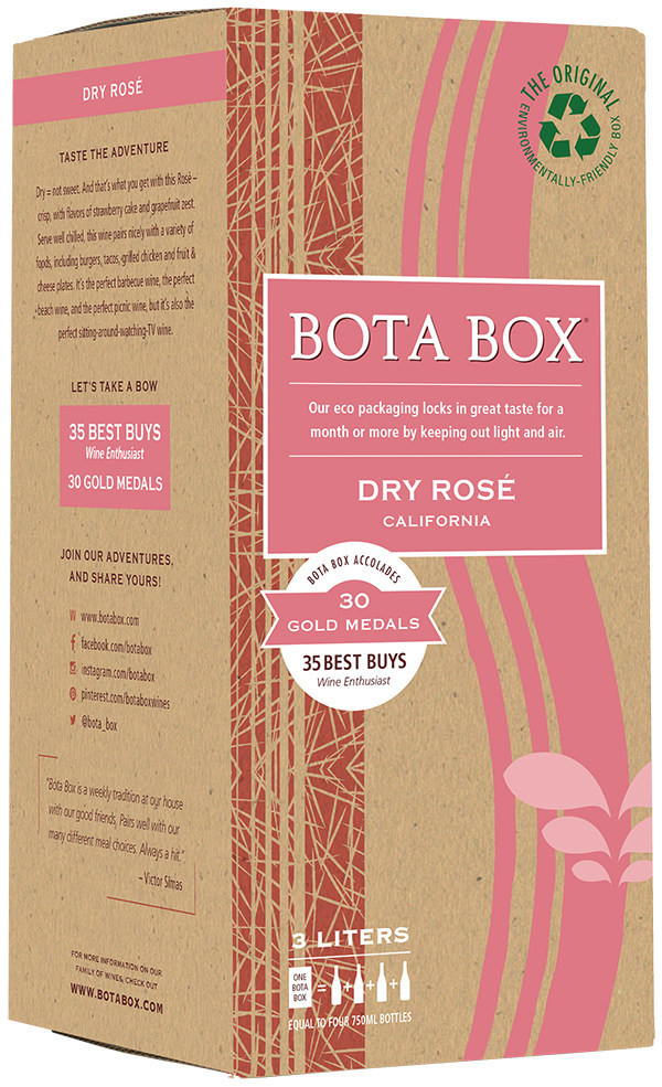Bota Box Introduces Dry Rose