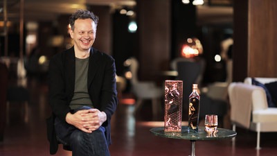 Tom Dixon OBE pictured as he unveiled The Johnnie Walker Blue Label Capsule Series by Tom Dixon at the stunning Teatro Manzoni at Milan Design Week (PRNewsFoto/Johnnie Walker)