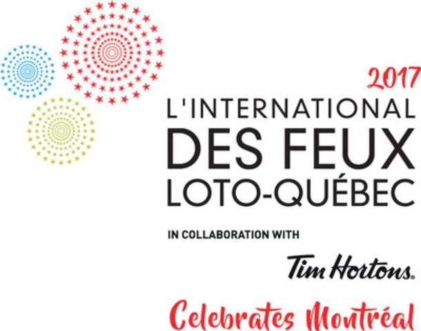 Logo: L'International des Feux Loto-Québec 2017 (CNW Group/La Ronde)