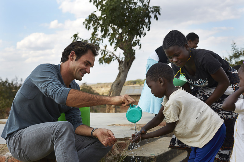 Roger Federer Foundation by Jens Honore