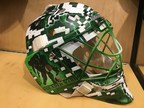 Dallas Stars Goalie Auctions Helmet to Support Wounded Warrior Project