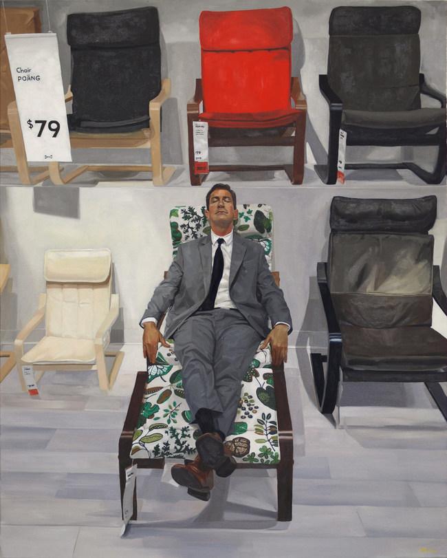 "oil on canvas, 48x60"""