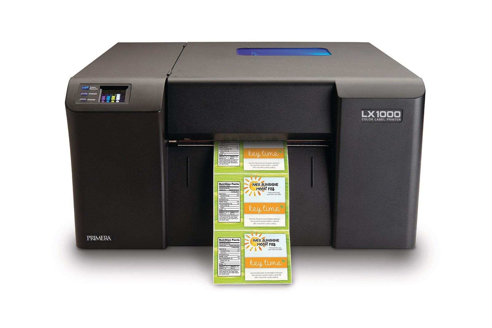 Color printer label - Lx1000 Color Label Printer